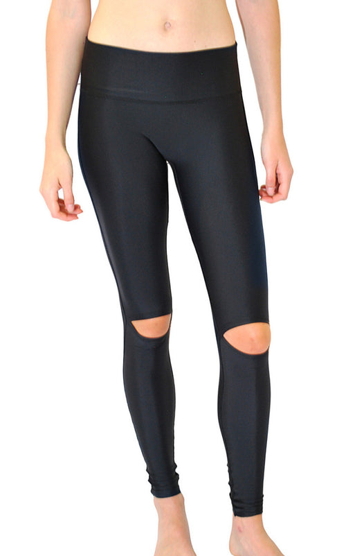 BETSHE Aria Cut Out Knee Legging