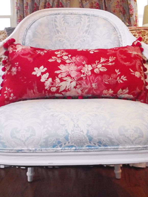 Ruby Castle Pillow - VINTAGE RECLAIMED