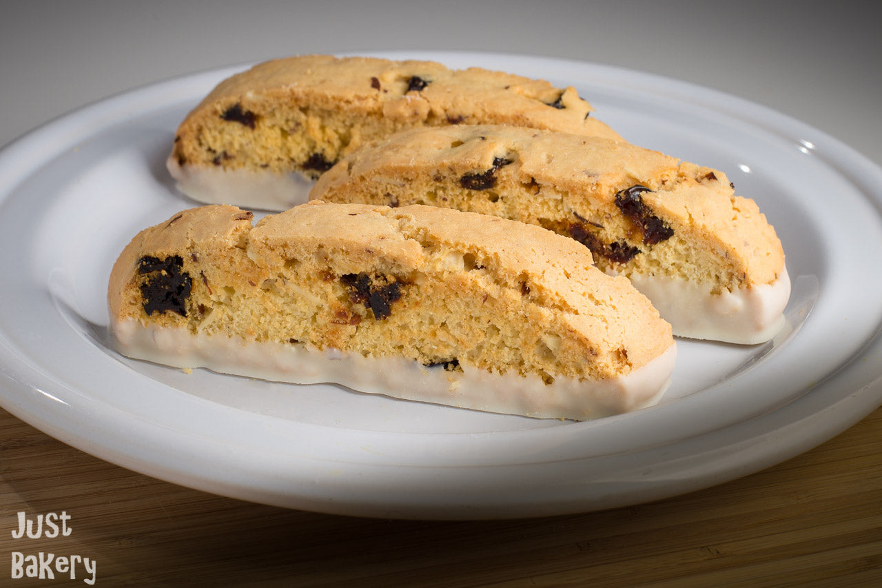 Cherry Almond Biscotti (8 oz) (Call for availability)