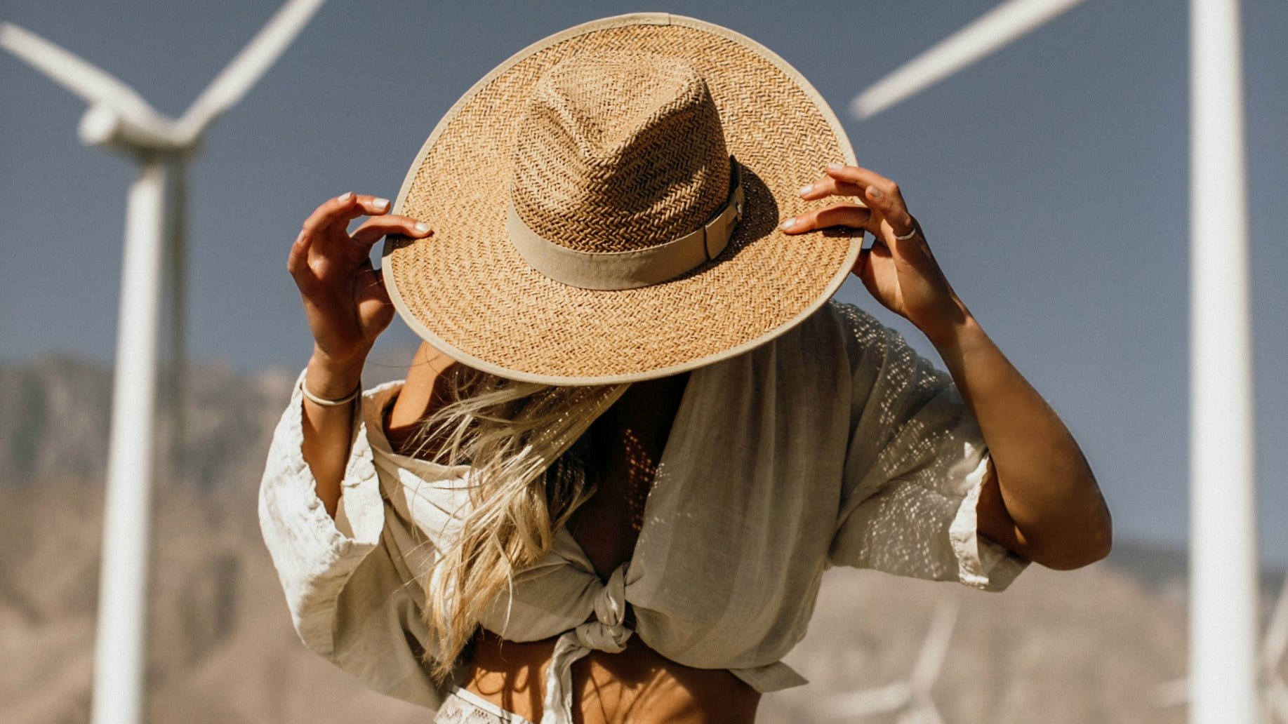 Straw Panama, Fedora and Beach Hats