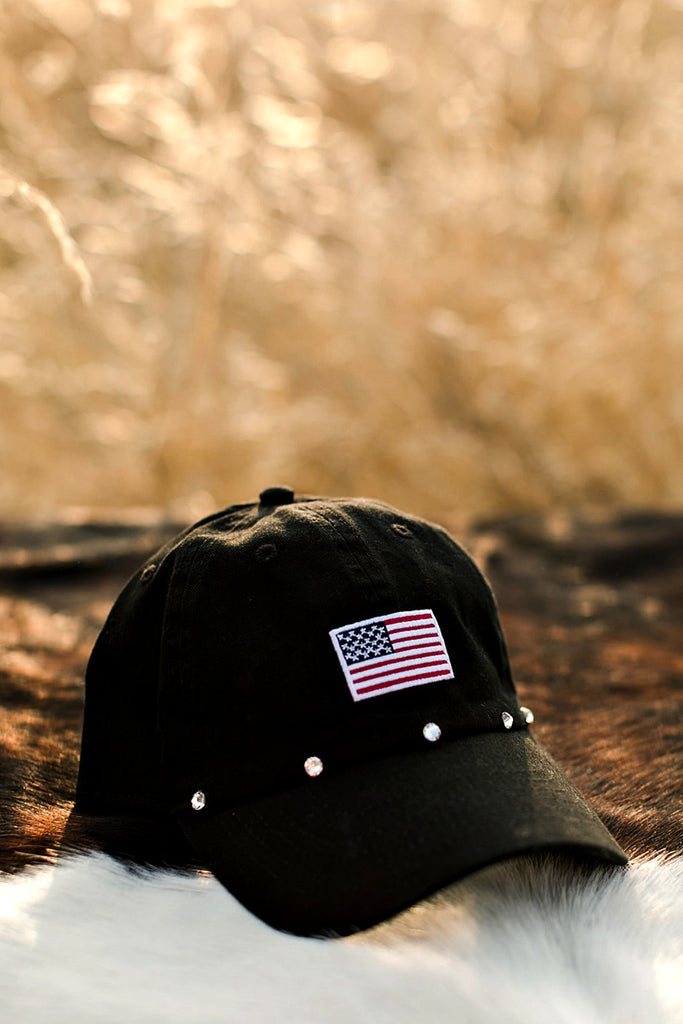USA Flag Ball Cap