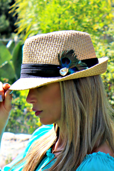 "Alexis ""Feather Time"" Fedora"