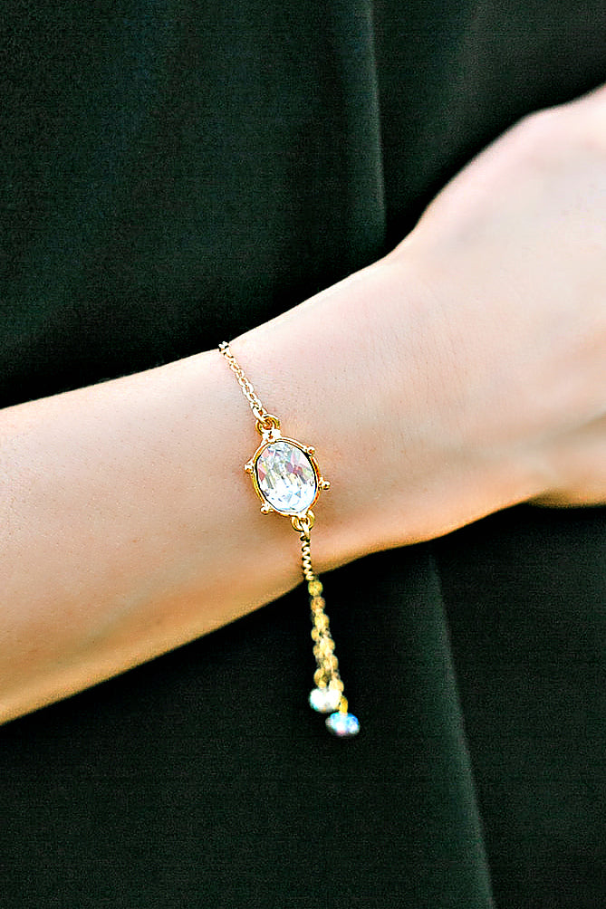 "EXCLUSIVE ""First Lady's Luncheon"" Swarovski Crystal Slider Bracelet"