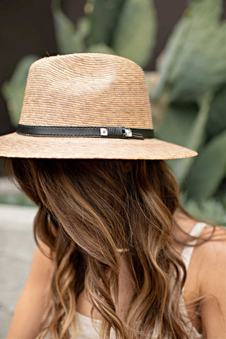 "BEST SELLER ""AS SEEN ON MICHELLE from VB""! The Palm Crystallized Panama Hat"