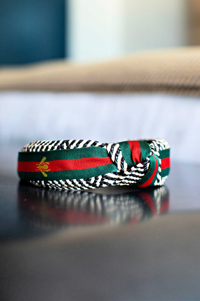 """Designer Inspired"" Stripe Headband in 2 Styles"
