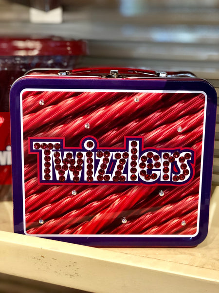 Classic Twizzlers Tin Lunchbox