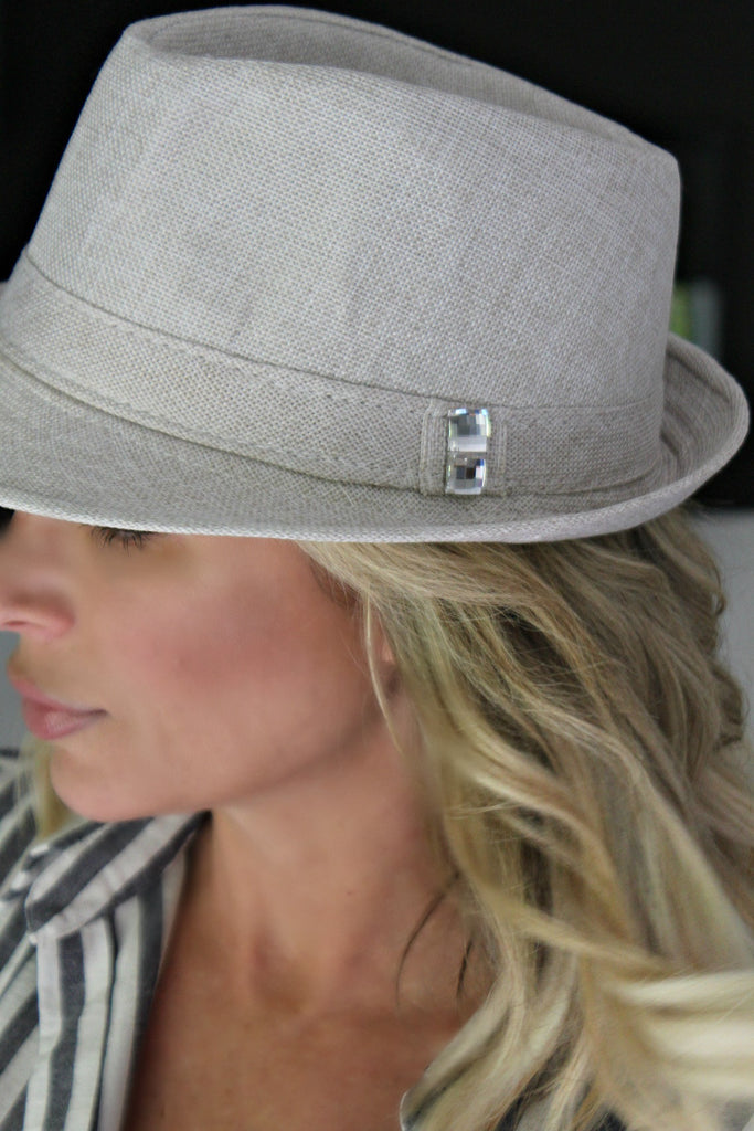"The Alexis ""Fedorable"" Hat - Glitzy Bella"