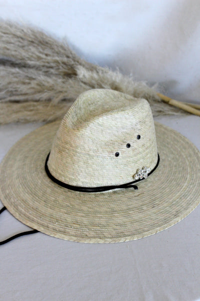 The Abaco Straw Hat w/ Chin Strap