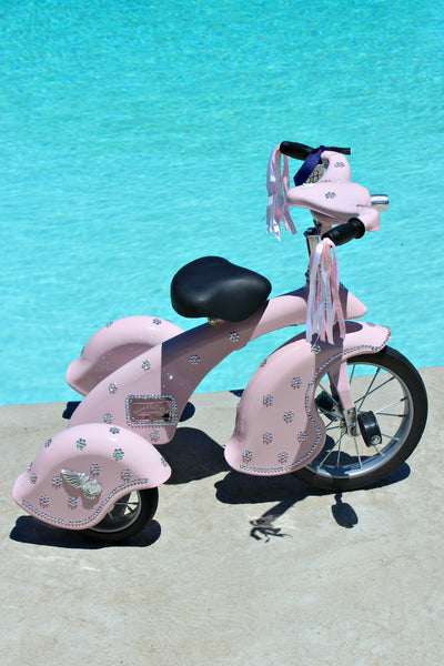 Swarovski Crystallized Flower Tricycle