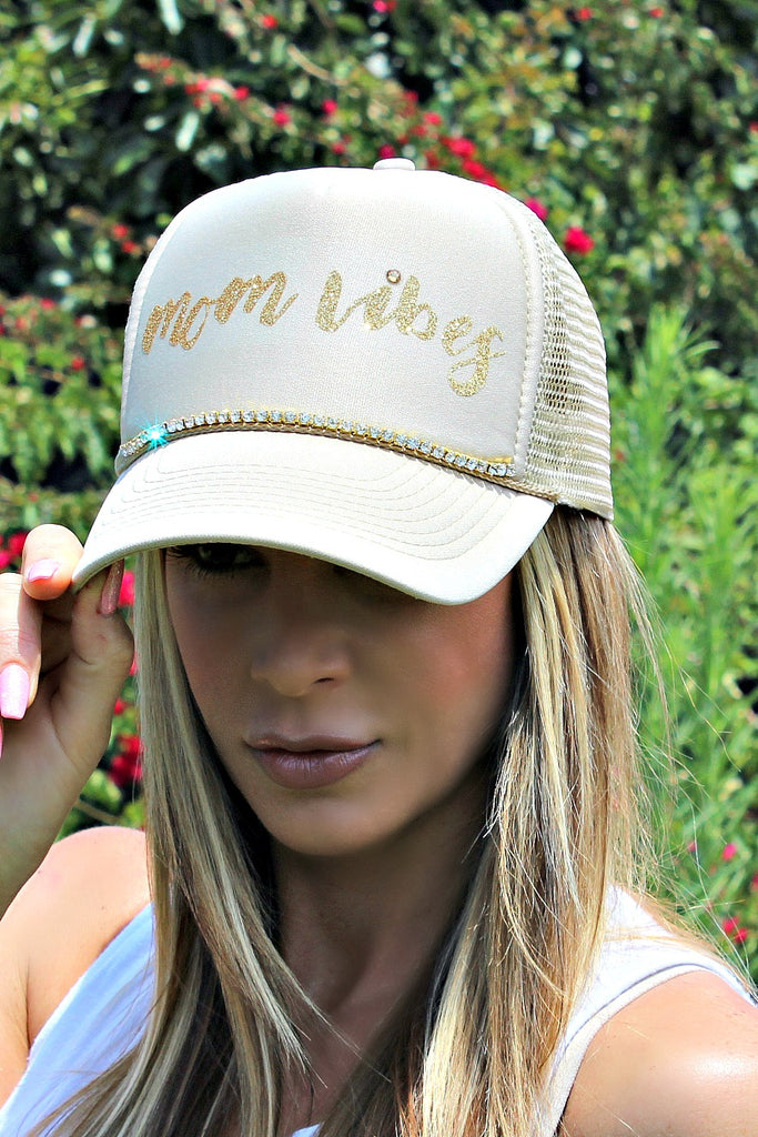 "Alexis ""Mom Vibes"" Hat - Glitzy Bella"