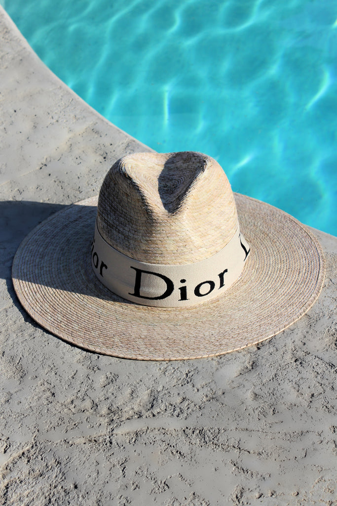 NEW!! The Islander Crystallized Straw Hat
