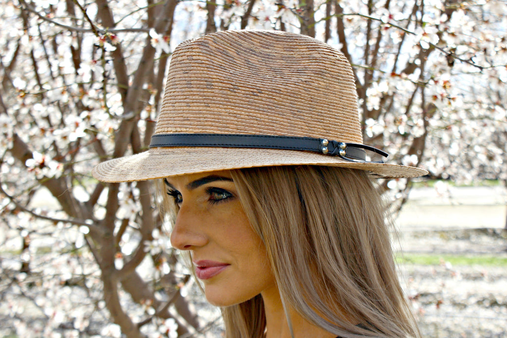 BEST SELLER OF SUMMER!  Mexican Palm Crystallized Panama Hat