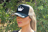 Swarovski Crown Trucker Hat - Glitzy Bella