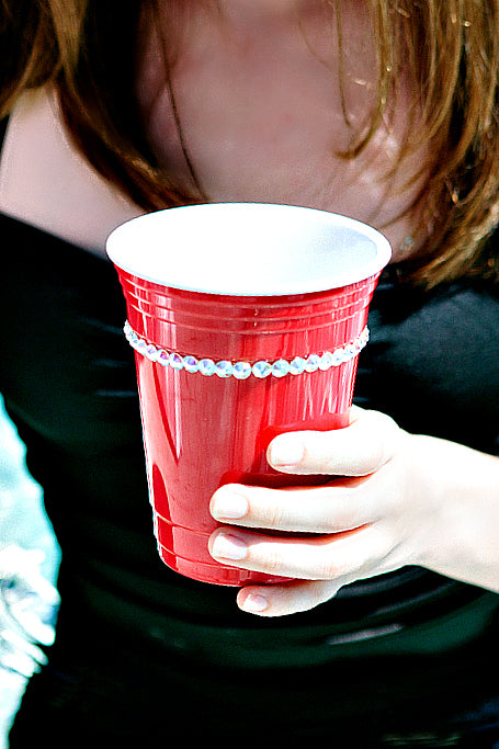 Swarovski Crystallized 16 oz. Solo Party Cup - Glitzy Bella
