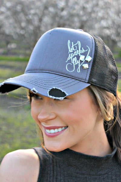 Let Sparks Fly Crystal Ball Cap