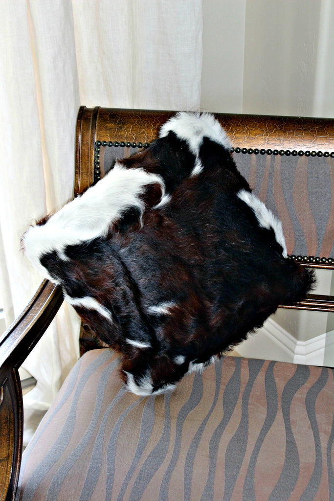 Cowhide Pillow - Glitzy Bella