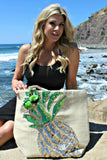 "Alexis ""Pineapple Breeze"" Travel & Beach Bag"
