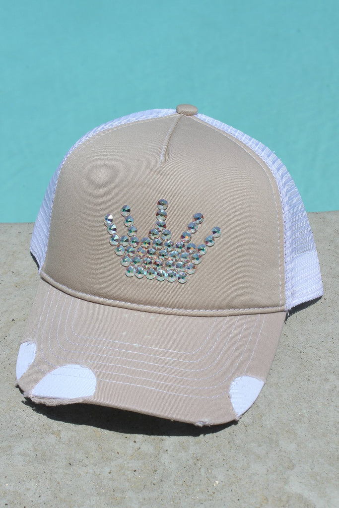 Swarovski Crown Trucker Hat