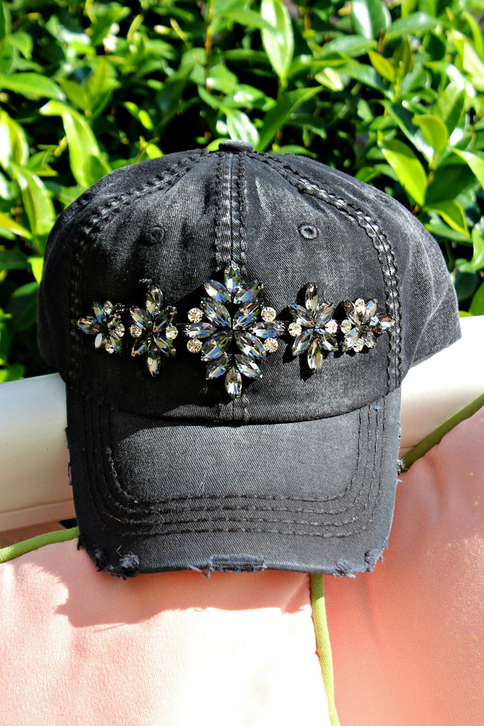 La Vie Crystallized Hat - In Stock! - Glitzy Bella