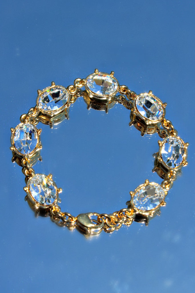 Back in Stock!  Swarovski Crystal Statement Bracelet