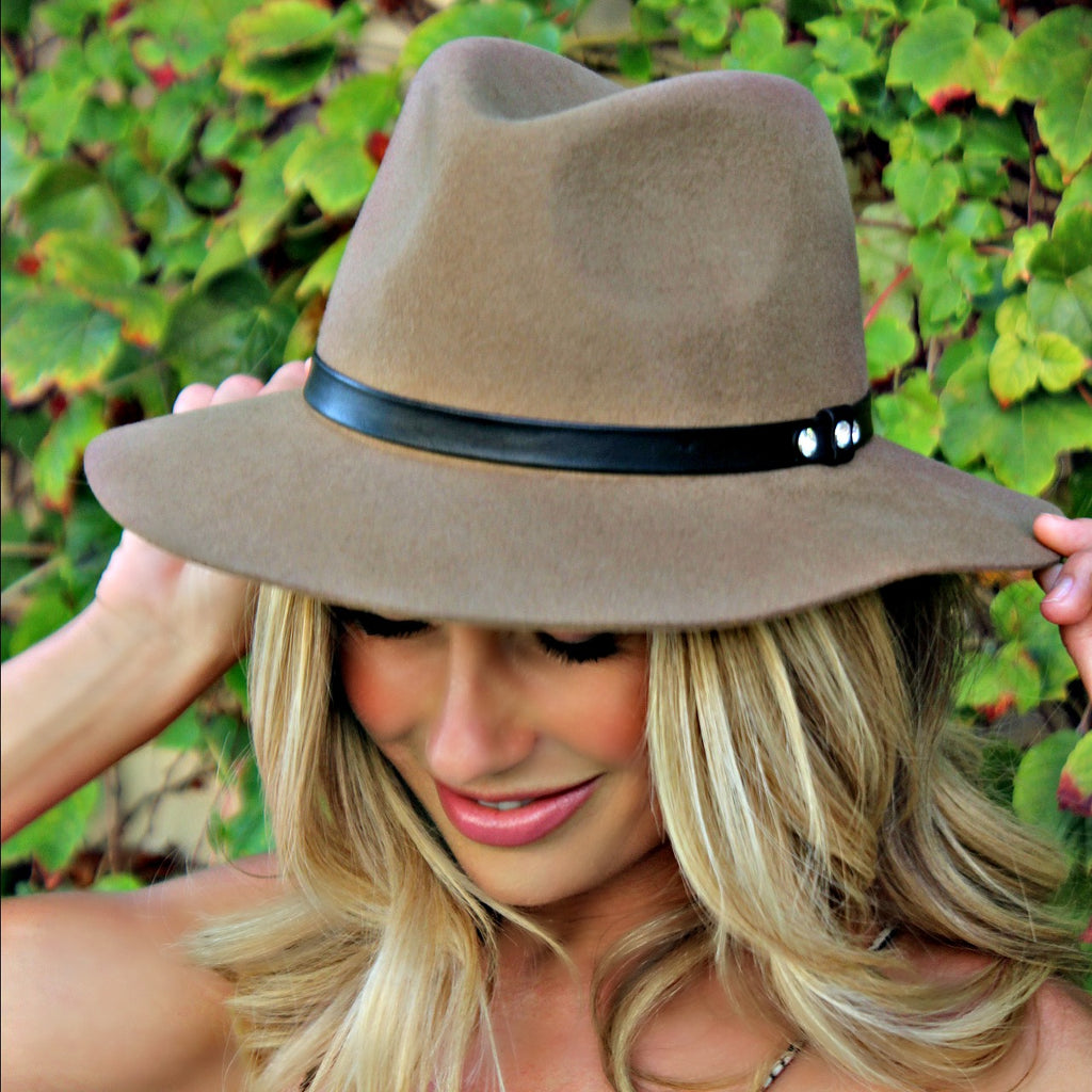 "The ""Charm"" by Glitzy Bella x Ashley Jacobs in Taupe - IN STOCK!"