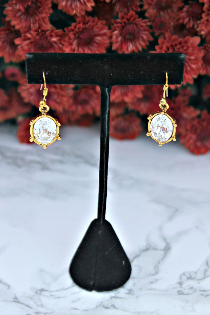 "EXCLUSIVE ""First Lady's Luncheon"" Swarovski Crystal Drop Earrings"
