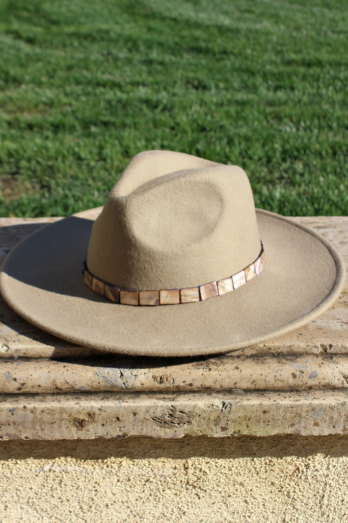The Abalone Wool Panama Hat in 3 Colors