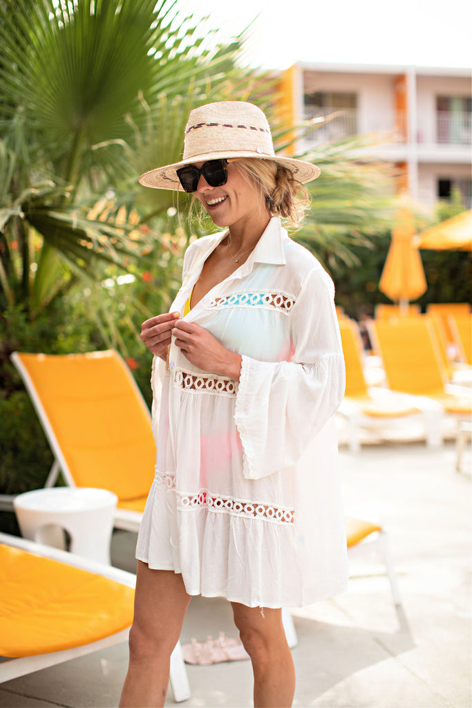 """AS SEEN ON MICHELLE from VB!!"" Beach Club"" Cover Up"