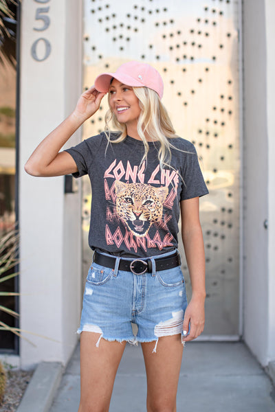 "AS SEEN ON MICHELLE from VB! ""Long Live Rock N' Roll"" Graphic Tee"