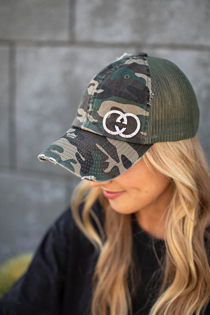 NEW!! The Gigi Ball Cap in 2 Colors