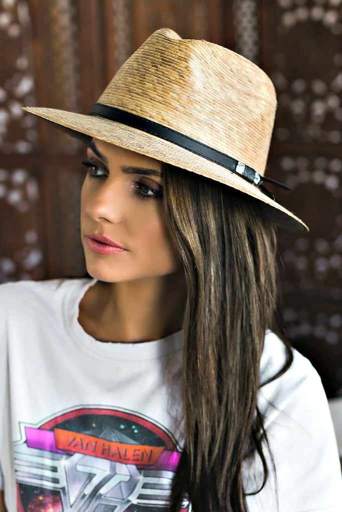 BEST SELLER! The Palm Crystallized Panama Hat