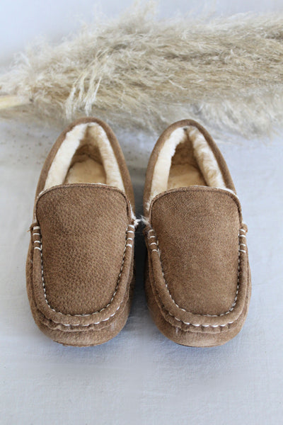 IN STOCK! AS SEEN ON MICHELLE from VB! Josie Suede & Sheepskin Moccasin