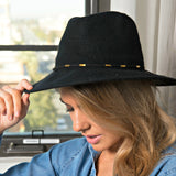 Refined Knit Fedora