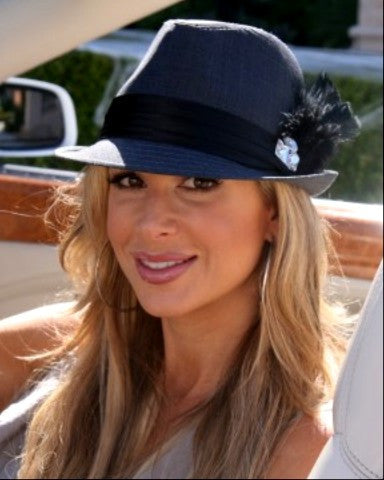 "Alexis ""Bling it On"" Fedora - Glitzy Bella"