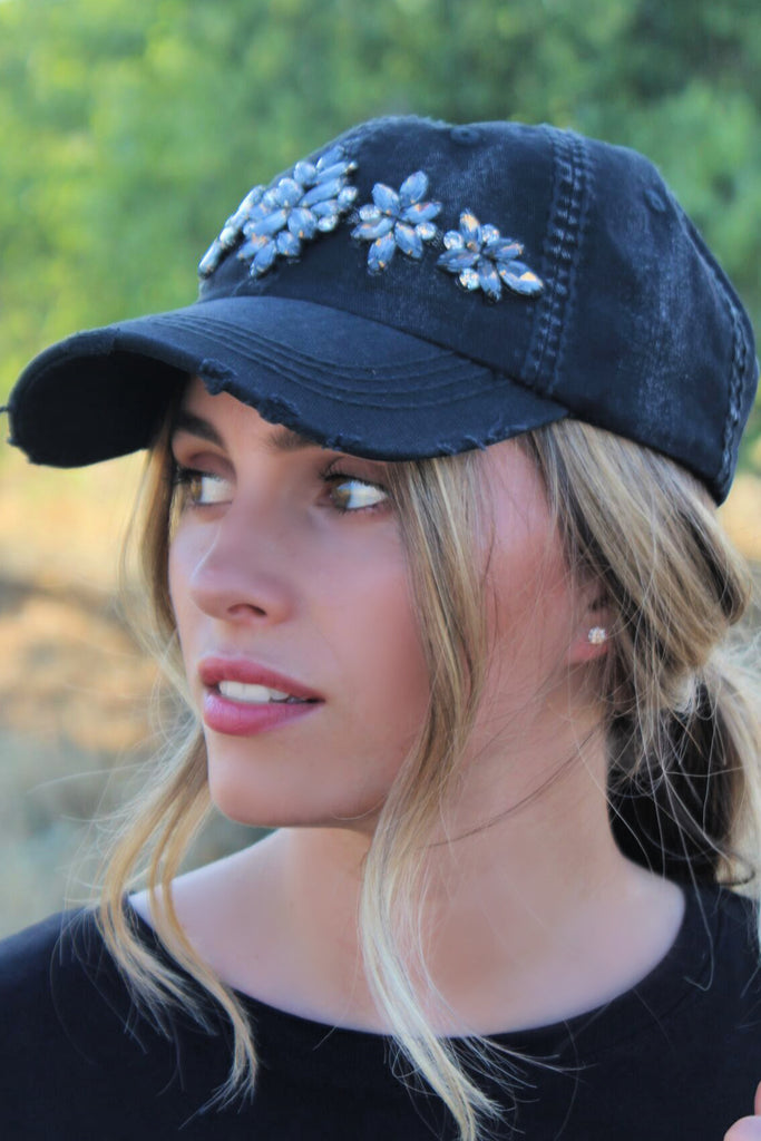 La Vie Crystallized Hat - In Stock!