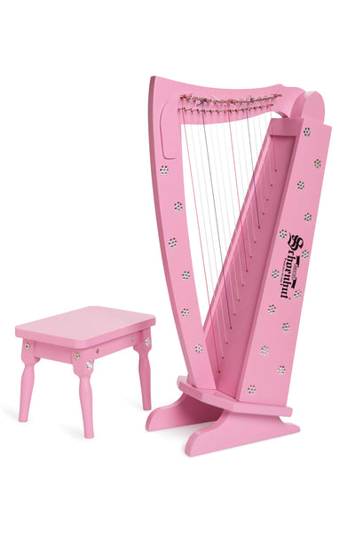 Crystallized 15 String Harp