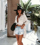 The Palm Desert Straw Panama Hat in Black - Pre Order - Glitzy Bella