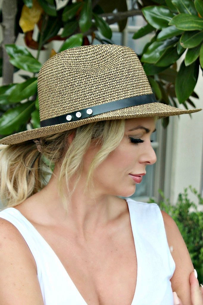 "The Alexis ""Everyday"" Straw Panama Hat in 3 Colors"