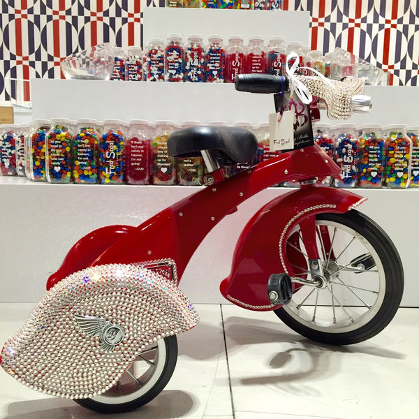 Glitzy Bella Swarovski Covered Tricycle