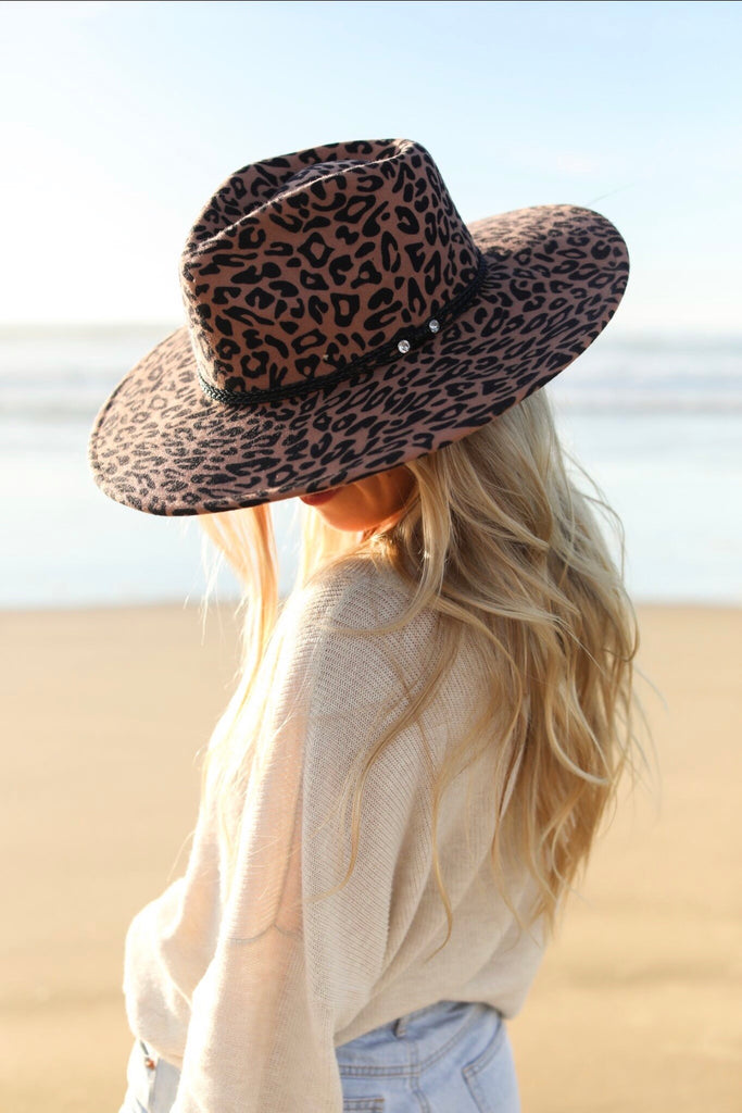 OUT OF STOCK - The Camille Spotted Panama Hat