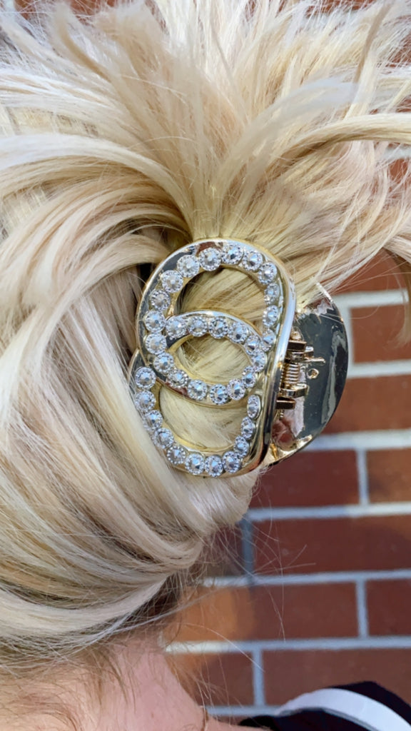 """Designer Inspired"" Hair Clip in 2 Colors"