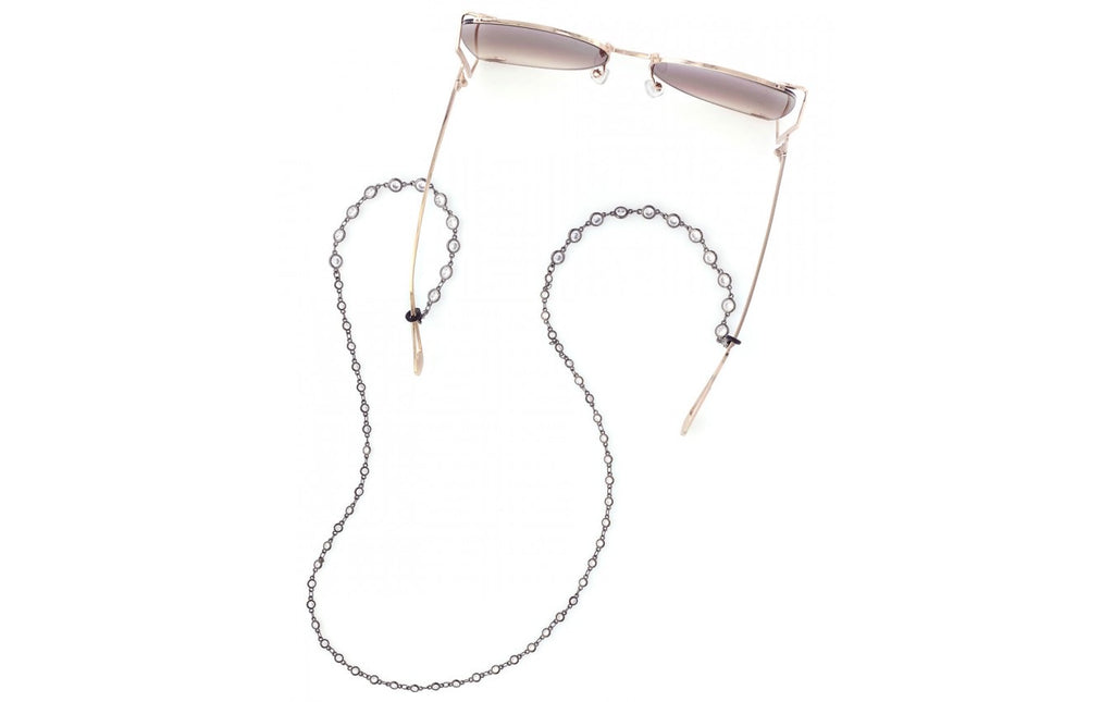 Crystal Eyeglass Chain in 3 Colors - Glitzy Bella