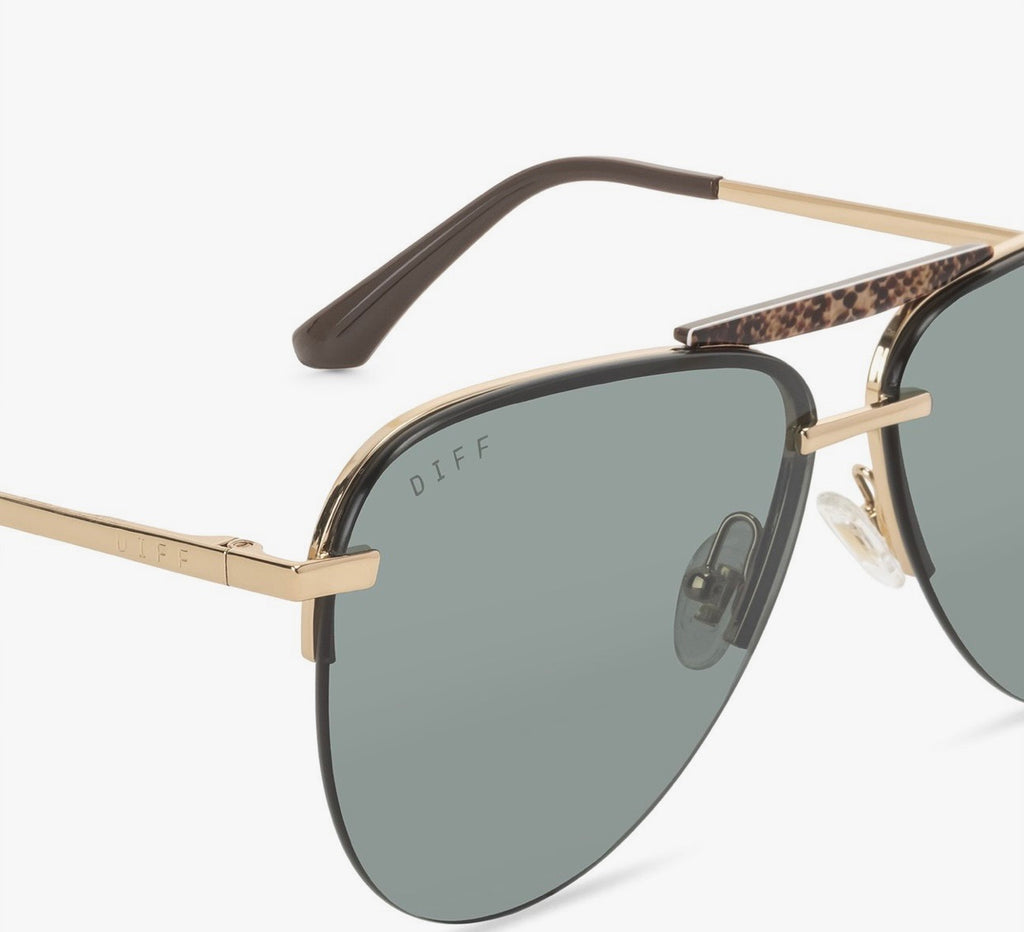 """Tahoe"" Oversized Polarized Aviator Sunglasses"