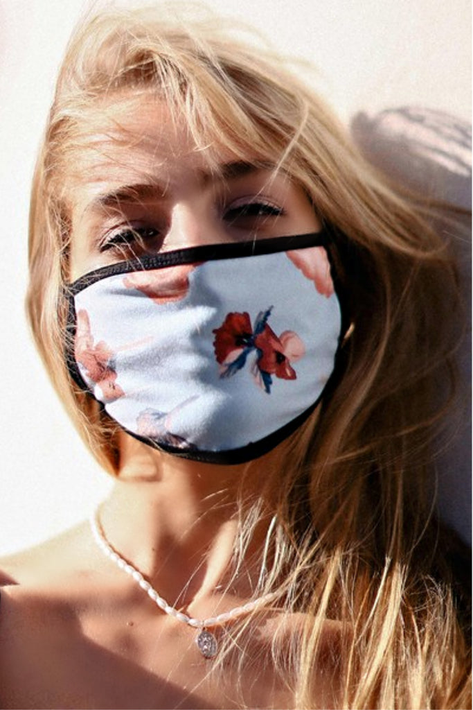 """Make it Fashion"" Floral Face Mask"