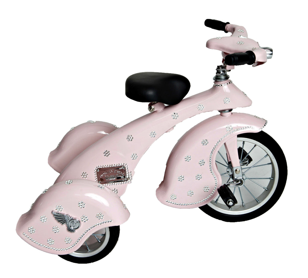 Crystallized Flower Tricycle