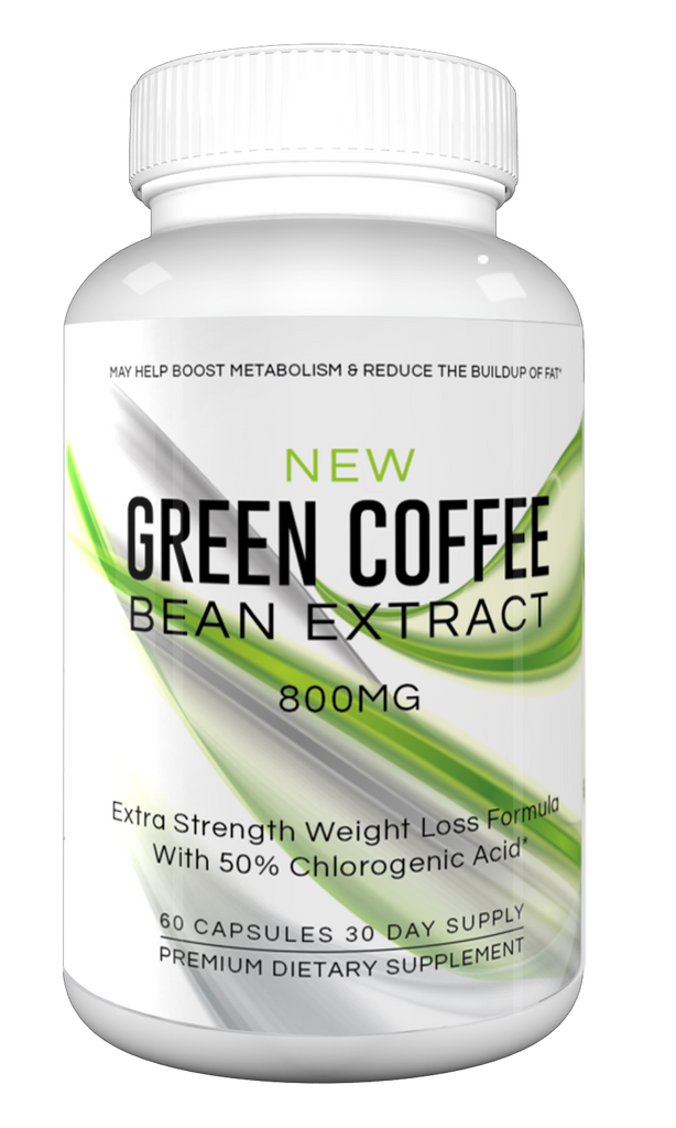 New Green Coffee Bean Extract Extra Strength Weight Loss Formula