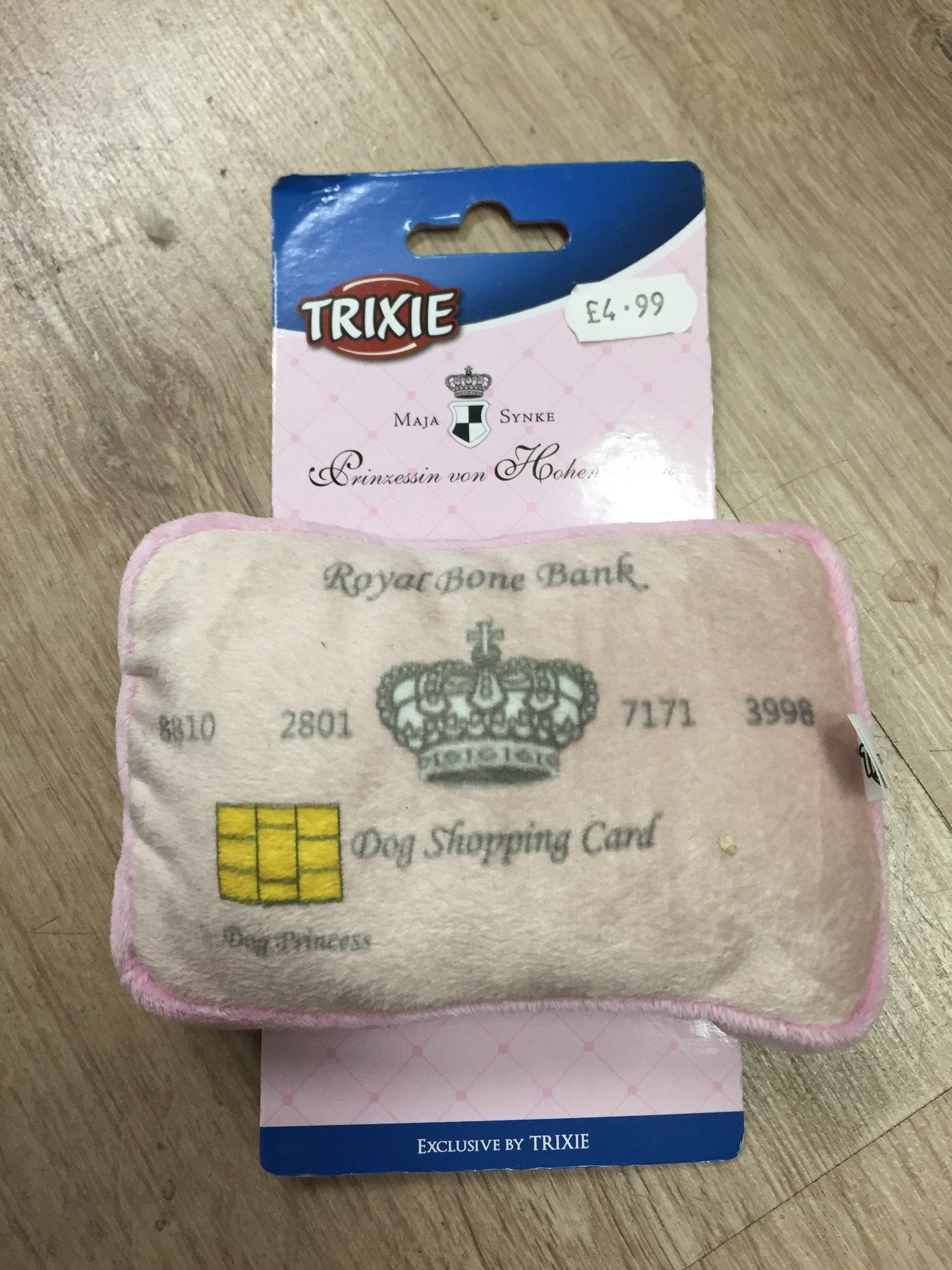 Trixie Doggie Credit Card