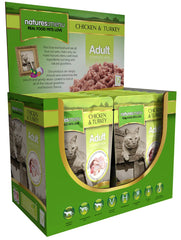 Natures Menu Chicken and Turkey Cat 12 Pouches