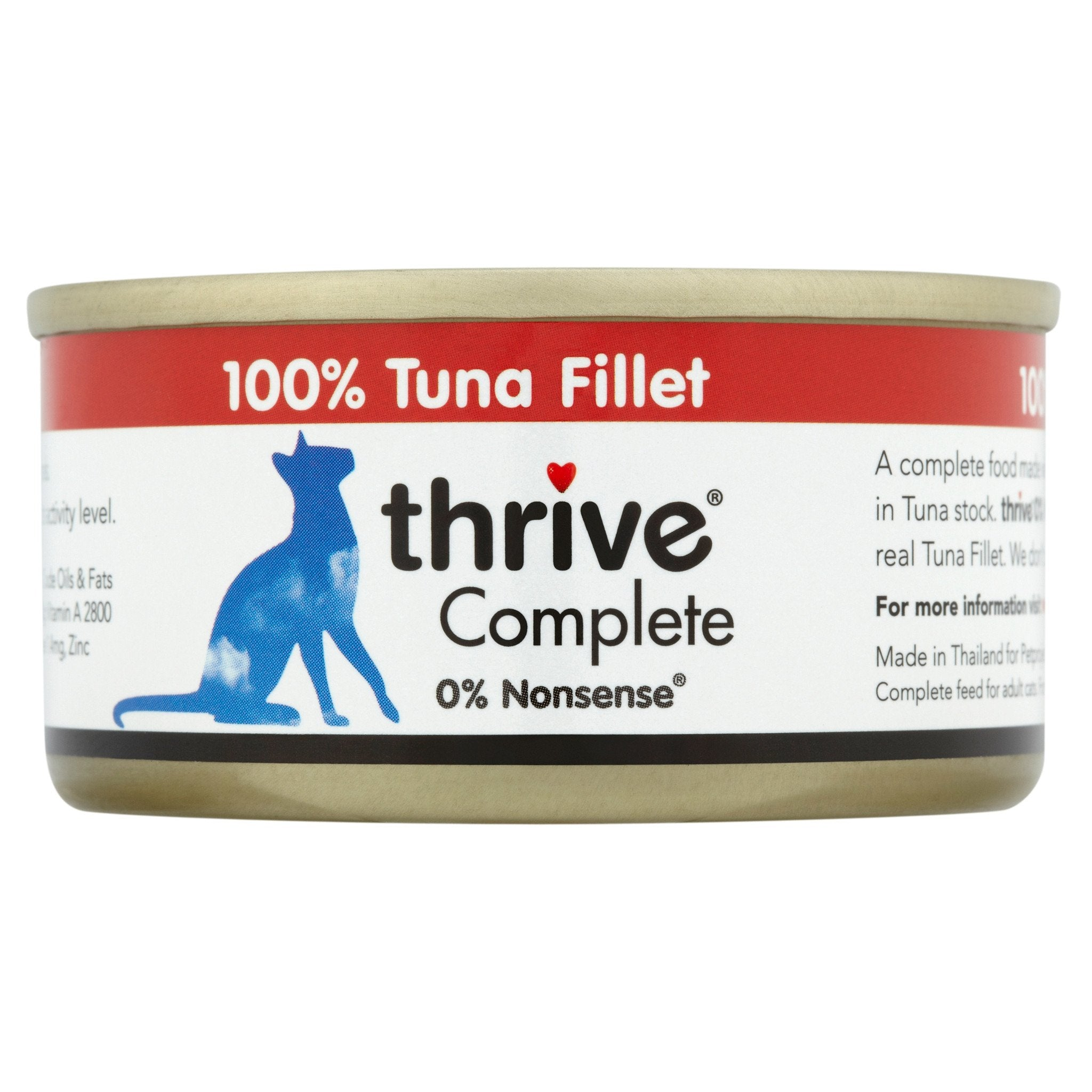 Thrive Tuna Fillet 75g