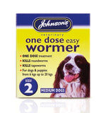 Johnsons Easy Dose Dog Wormer